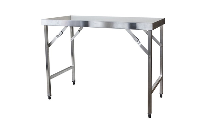 Stainless Steel Folding Work Table ...