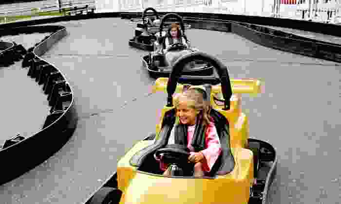 Scandia Family Center - Fairfield: $12 for a Fun Card with 220 Credits at Scandia Family Center ($20 Value)