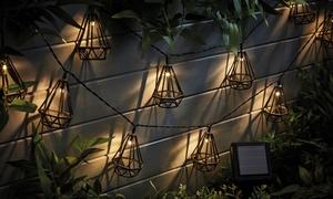Guirlandes LED solaires décoratives