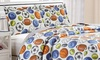 Home & Main Reversible Boy's Quilt and Sham Set