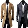 Men's Smart Double-Breasted Coat
