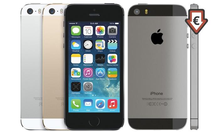 Apple iPhone 5S 16 Go reconditionné, coloris au choix à 189 €, livraison gratuite
