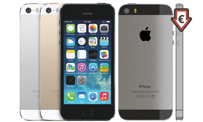 HiPhoneTech: Apple iPhone 5S 16 ou 32 Go reconditionné, coloris au choix, livraison gratuite
