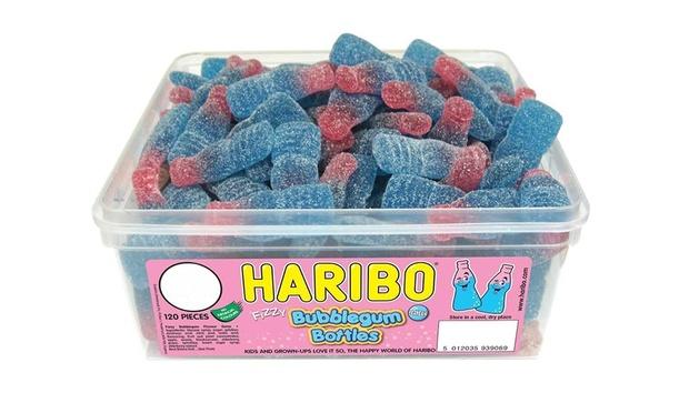 haribo gummy sweet boxes groupon goods. Black Bedroom Furniture Sets. Home Design Ideas