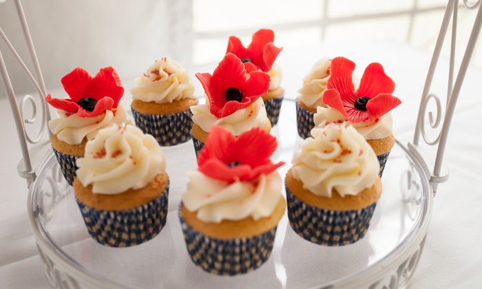 The Party Kitchen - Geneva: One- or Two-Month Cupcake of the Month Membership from The Party Kitchen (Up to 36% Off)