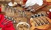 Polished Steel Cutlery Set