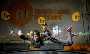 Hurricane Factory Madrid: 2 vuelos en túnel de viento con foto para 1 persona por 59,95 € en Hurricane Factory Madrid