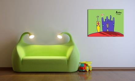 60% su tele per disegni del tuo bambino a 3,99euro