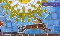150-Minute Mosaic Workshop for One or Two at Go Create (Up to 59% Off)