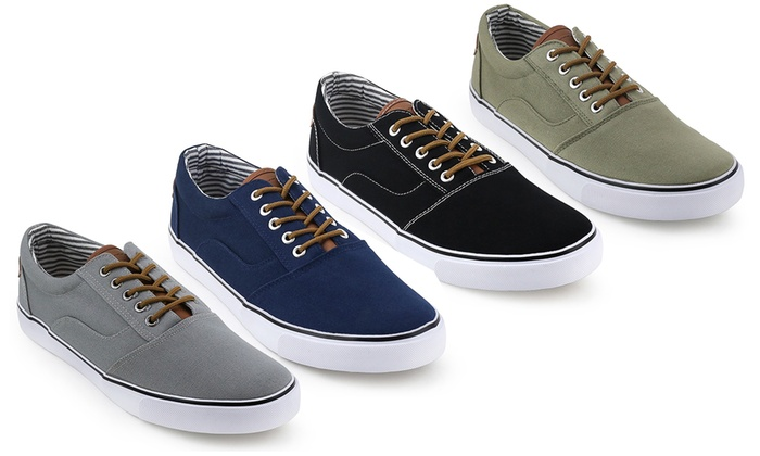 Unionbay Mens Canvas Sneakers