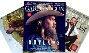 """Blue Dolphin Magazines: $10 for a One-Year, Six-Issue Subscription to """"Garden & Gun"""" from Blue Dolphin Magazines ($19.98 Value)"""