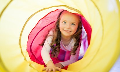 One or Three Open-Play Passes at <strong>Kids</strong> Town (Up to 56% Off)