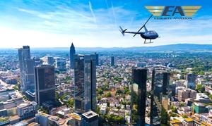 Eurofly Aviation GmbH: Helikopter-Rundflug über einer Stadt/Region nach Wahl für 1 oder 2 Personen mit Eurofly Aviation (bis zu 20% sparen*)