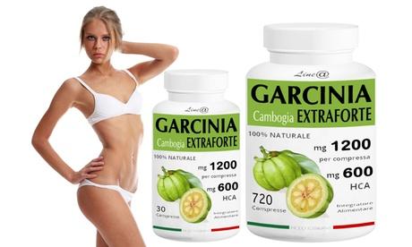 Fino a 720 compresse di Garcinia Cambogia Extraforte 1200 mg da 9,90 € (fino a 88% di sconto)