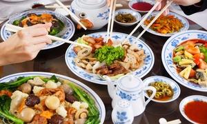 JASMINE: Menu cinese con antipasto, primo, secondo, dolce, vino e sake (sconto fino a 66%)