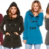 Women's Hooded Toggle Coats