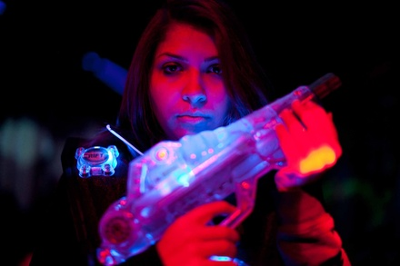Unlimited Lazer Tag or Two Lazer Tag and Laser Maze Games at Lazer X (Up to 31% Off). Six Options Available.
