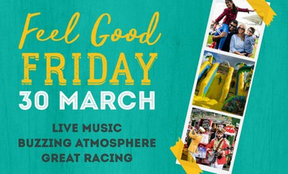 image for Feel Good Friday Family Ticket, Two Grandstand Tickets with Race Programmes, 30 March, Bath Racecourse (Up to 42% Off)
