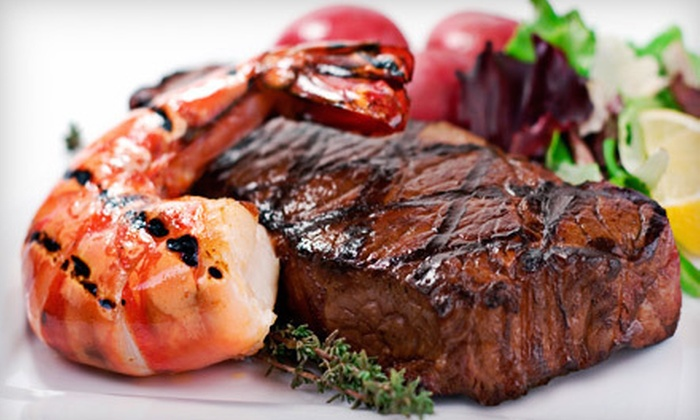 Woody's Solana Beach - Solana Beach: Casual Surf 'n' Turf for Dinner for Two or Four, or $7 for $15 Worth of Lunch at Woody's Solana Beach