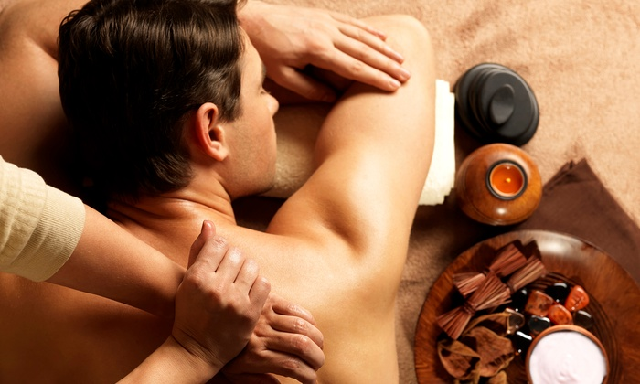 Serenity On St. Paul Day Spa - Cherry Creek: $85 for 60-Minute Massage Package with Sugar Body Scrub at Serenity On St. Paul Day Spa ($160 Value)