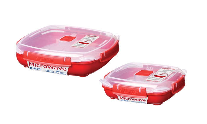 Sistema Microwave Plate And Tray Groupon Goods