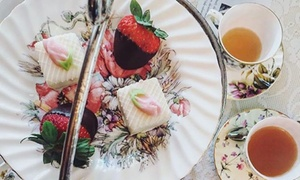The English Tea Room: High Tea for Two or Four at The English Tea Room (Up to 51% Off)