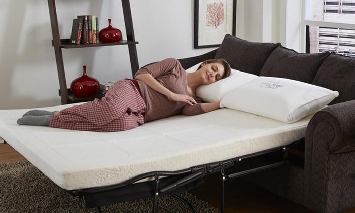 Nature S Sleep Sofa Sleeper Replacement Gel Memory Foam Mattress