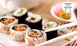 Boteco Classe A: Boteco Classe A – Ipanema: sequência de sushi e temaki para 1 ou 2 pessoas
