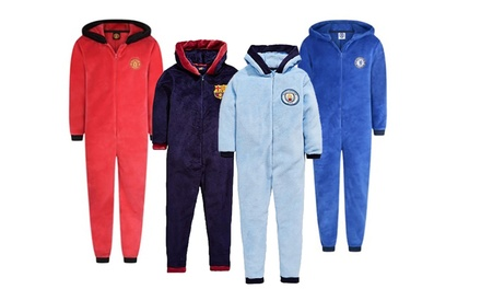 Men's Officially Licensed Football Fleece Onesie