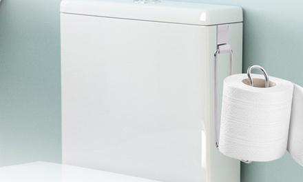 Porta carta igienica in acciaio