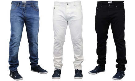 mens threadbare jeans