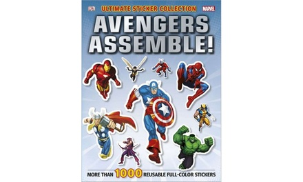 Marvel Avengers Assemble Sticker Collection Book