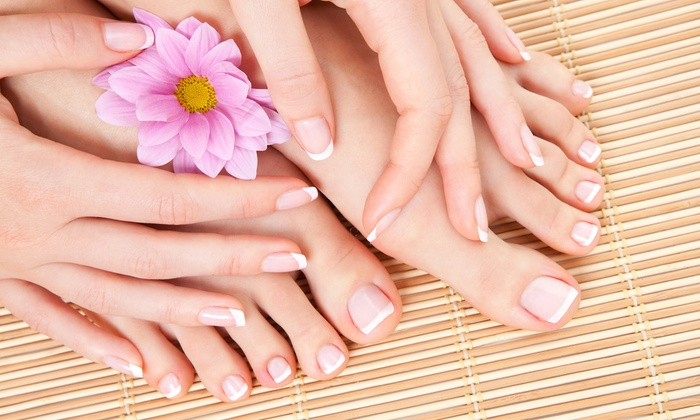Gilmore's Nail Salon - Hudson: $50 for One Lady's Pamper Yourself Package at Gilmore's Nail Salon ($90 value)