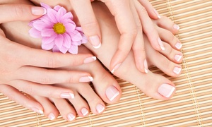La Reine: Spa Mani-Pedi for One or Two at La Reine (Up to 53% Off)