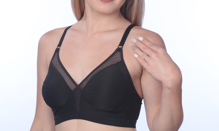 693649d05ee7e Hanes X-Temp Unlined Convertible Wirefree Bra. Plus Sizes Available.