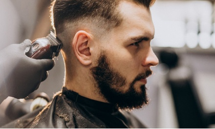 Barber Cut Package with Beer: One ($19) or Two Sessions ($35) at South '87 (Up to $80 Value)