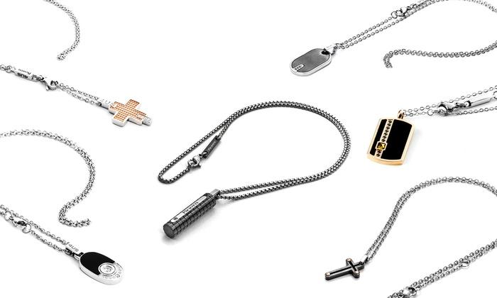 Groupon Goods Global GmbH: Collane da uomo Cesare Paciotti disponibili in vari modelli