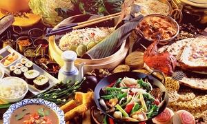 Mister Wu: Chinesisch-mongolisches All-you-can-eat-Buffet für zwei oder vier Personen bei Mister Wu (bis zu 26% sparen*)