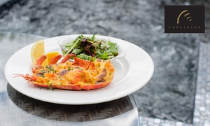 The Crazy Bear Group: Chateaubriand, Lobster and Premium Champagne at The Crazy Bear £25 (59% off)