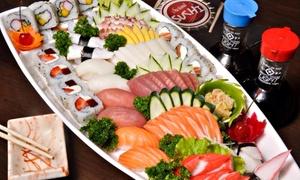 Dong Kinh Böblingen: 3-Gänge-Menü mit großer Sushi-Platte für 2 oder 4 Personen im Dong Kinh Böblingen (bis zu 58% sparen)