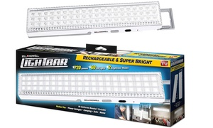 As Seen on TV Bell + Howell Tac Light Bar White LED Portable Lights