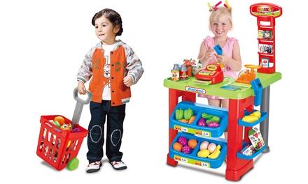Children's Supermarket Play Set