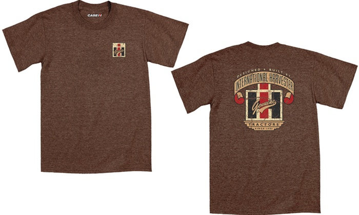 picked up sleek 100% genuine Men's Case IH Tractor T-Shirts | Groupon Goods