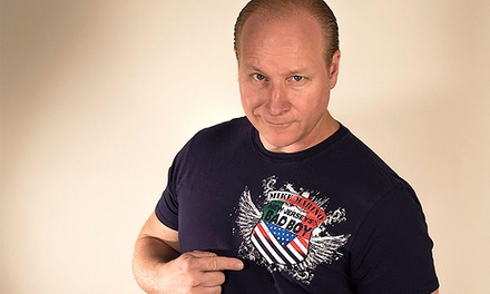 Mike Marino at Paramount Theatre on Saturday, August 15, at 8 p.m. (Up to 48% Off)