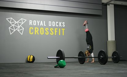 image for One Month's Class Membership at Royal Docks CrossFit (74% Off)