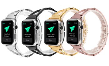 Caseph Jewelry Band for Apple Watch Series 1, 2, 3, 4, 5, and Sport