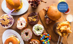 Milk Bar By Cafeish: Doughnut with Milkshake for One ($9), Two ($18) or Four People ($36) at Milk Bar By Cafeish (Up to $48 Value)