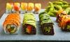 SUSHI KOKORO - Barcelona: Bandeja de 50 piezas de sushi take away más botella de vino por 24,90 € en Sushi Kokoro