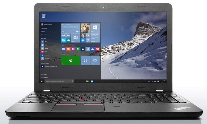 Groupon Goods: Lenovo ThinkPad Laptop with 4GB RAM and a 1-Year Subscription to McAfee Antivirus Plus (Shipping Included)
