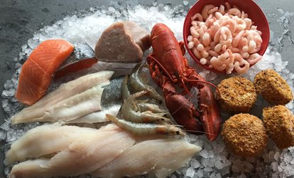 image for Up to £80 Toward Seafood, Collection or Delivery from Dockside Seafood (Up to 42% Off*)